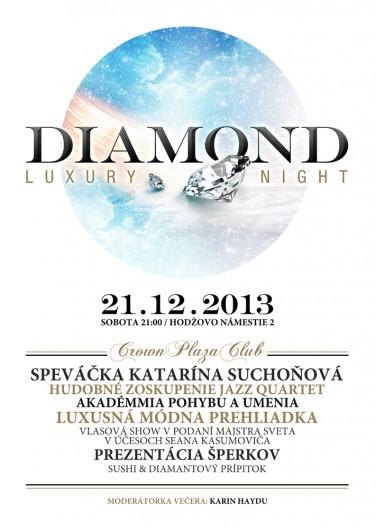 Diamond amilen fashion show