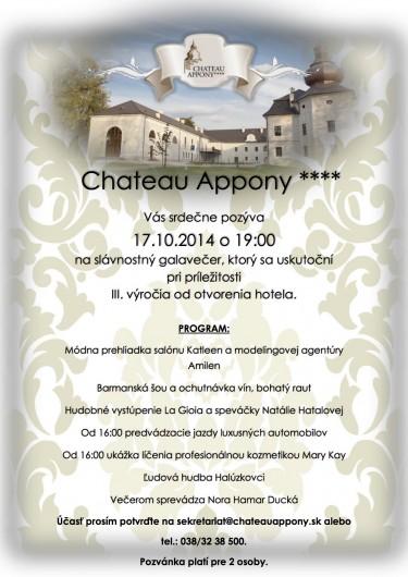Chateau Appony VIP