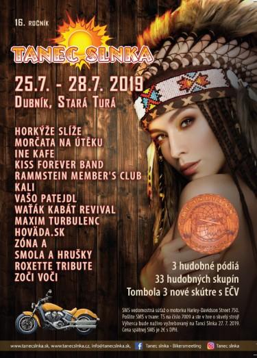TANEC SLNKA - plagát